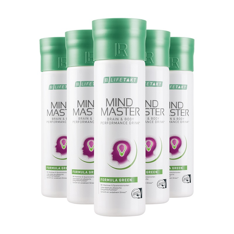 LR LIFETAKT Mind Master Formula Green Série 5 ks x 500 ml