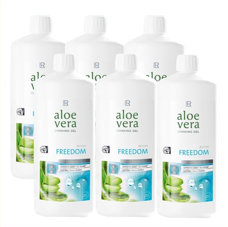 LR Aloe Vera Drinking Gel Freedom 6 x 1000 ml