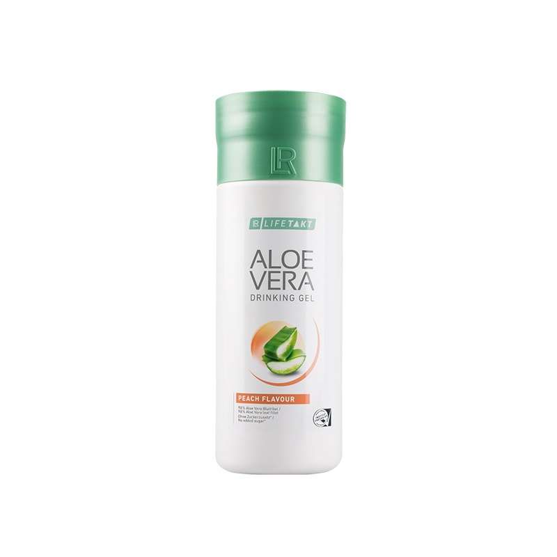 LR LIFETAKT Aloe Vera Drinking Gel Broskev 1000 ml